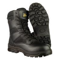 Amblers Safety COMBAT Mens Occupational Footwear Black